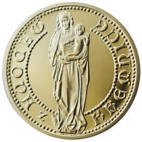 Medal with motive of Kremnica castle - Shine