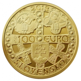 100 Euro / 2019 - Prince of Great Moravia Mojmír I.
