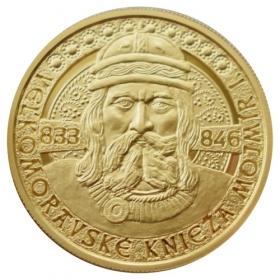 100 Euro / 2019 - Veľkomoravské knieža Mojmír I.