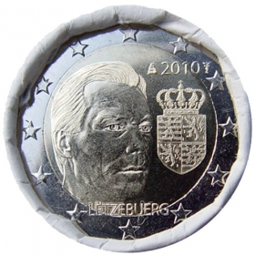 2 Euro / 2010 - Luxembourg - Arms of the grand duke Henri