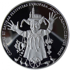 Silver medal - Kremnica Gagy 2010