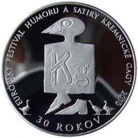 Strieborná medaila - Kremnické Gagy 2010