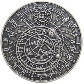 Strieborná medaila - 600. výročie zostrojenia Staromestského orloja