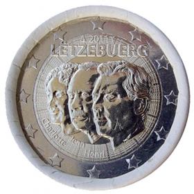 2 Euro Luxembursko 2011 - Vymenovanie veľkovojvodu Jeana