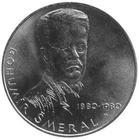 100 Kčs / 1980 - Bohumír Šmeral - bežná kvalita