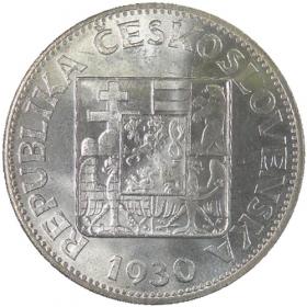 10 Kč / 1930 - Žena s lipou - bežná kvalita