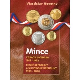 Katalóg Mince Československa 1918-1992, České republiky a Slovenské republiky 1993-2020