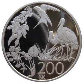 200 Sk / 1995 - European nature conservation´s year - Proof