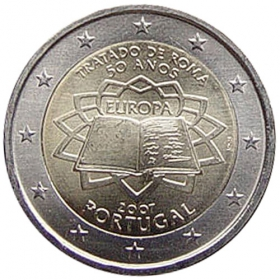 2 Euro / 2007 - Portugalsko - Rímska zmluva