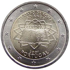 2 Euro Portugalsko 2007 - Rímska zmluva
