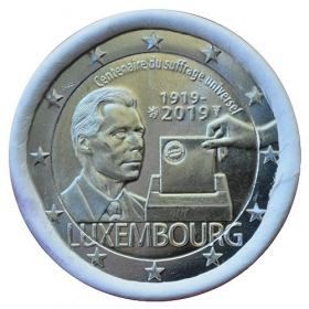 2 Euro / 2019 - Luxembourg - Universal Suffrage