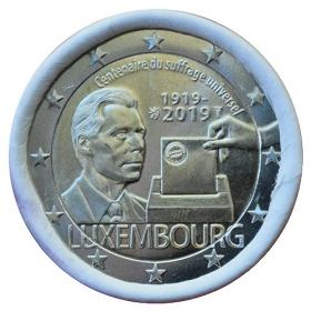 2 Euro Luxembursko 2019 - Volebné právo