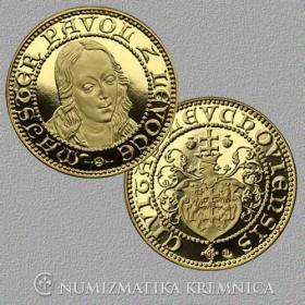 Medaila Levoča - Sv. Mária (1-dukát)