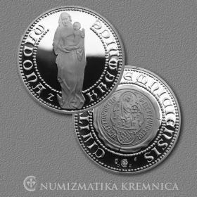 Medal Madonna from Kremnica - Proof