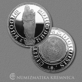 Medaila Madona z Kremnice - Proof