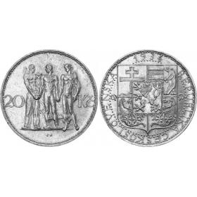 20 CZK / 1934