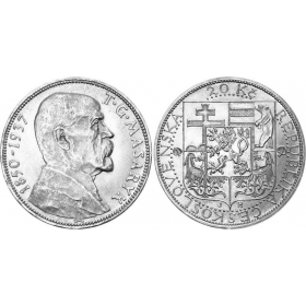 20 Kč / 1937 - T. G. Masaryk
