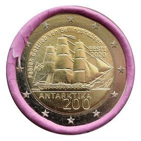 2 Euro Estónsko 2020 - Objavenie Antarktídy