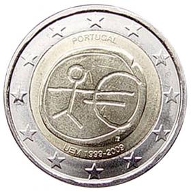 2 Euro / 2009 - Portugalsko - Hospodárska a menová únia