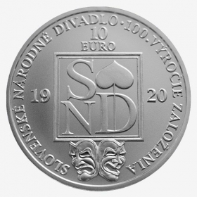 10 Euro / 2020 - Slovak National Theatre