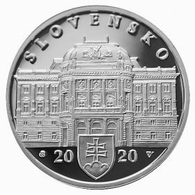 Pamätný list Slovenské národné divadlo + 10 Eur Slovenské národné divadlo Proof