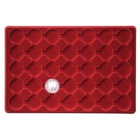 Plató na mince 35 okienkové, výrez kruh