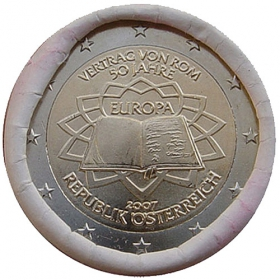 2 Euro / 2007 - Rakúsko - Rímska zmluva