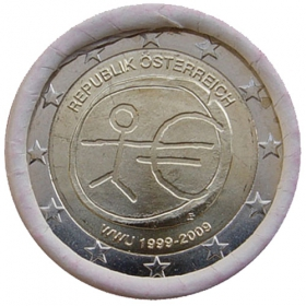 2 Euro / 2009 - Rakúsko - Hospodárska a menová únia