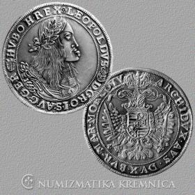 Silver replica of tolar Leopolda I. - r. 1665