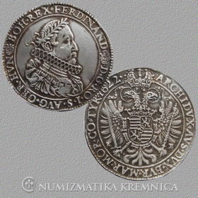 Silver replica of tolar Ferdinanda II. - r. 1622