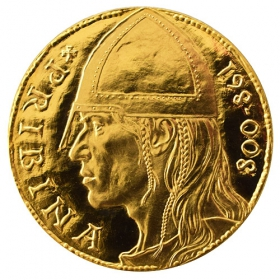 Gold medal Pribina (1-ducat)