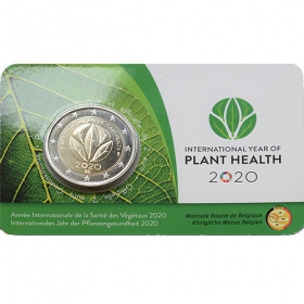 2 Euro / 2020 - Belgium - Plant Health