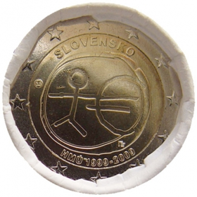 2 Euro Slovensko 2009 - Hospodárska a menová únia