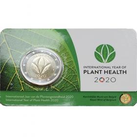 """2 Euro Belgicko """"NL/EN"""" 2020 - Zdravie rastlín"""