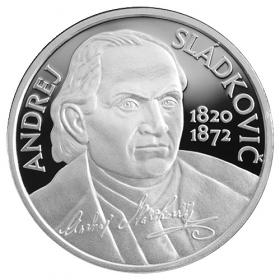 10 Eur Slovakia 2020 - Andrej Sládkovič
