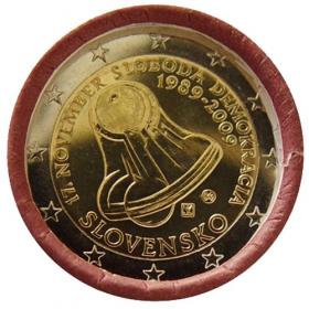 """2 Euro Slovensko 2009 - 17. november 1989 (""""Zvonček"""")"""