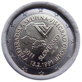 2 Euro / 2011 - Slovensko - Vyšehradská skupina
