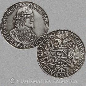 Silver replica of tolar Ferdinanda III. - r. 1640