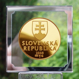 Gold replica of 10 Skk year 2008 - Edition auteur