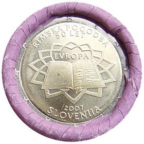 2 Euro Slovinsko 2007 - Rímska zmluva