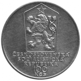 100 Kčs 1983 - 100. výročie úmrtia Sama Chalúpka, bežná kvalita