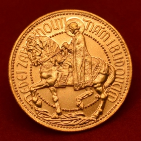 Golden ducat of Antonín Mára from 1923