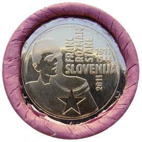 2 Euro / 2011 - Slovinsko - Franc Rozman Stane