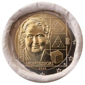2 Euro Taliansko 2020 - Mária Montessori