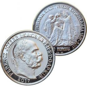 Platinum 100 Korona Francz Joseph I.