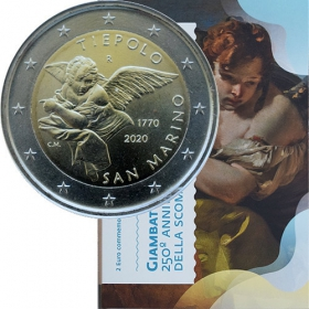 2 Euro San Maríno 2020 - Giambattista Tiepolo, UNC