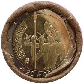 2 Euro / 2005 - Španielsko - Don Quijote