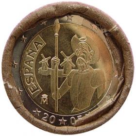 2 Euro Španielsko 2005 - Don Quijote de la Mancha