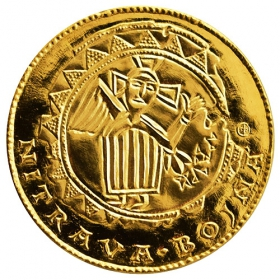 Zlatá medaila Nitrianske knieža Pribina (2 -dukát)