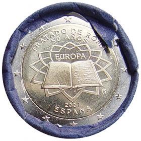 2 Euro Španielsko 2007 - Rímska zmluva